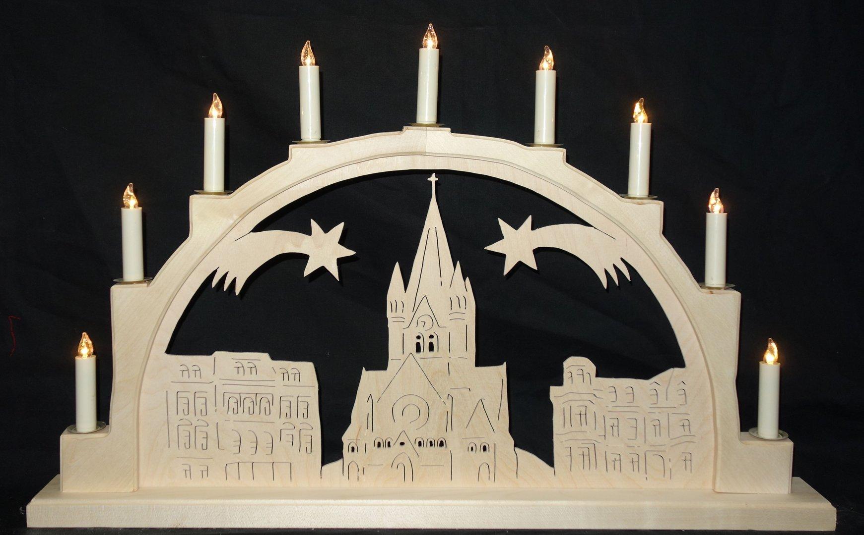 schwibbogen halle pauluskirche kunsthandwerk karste. Black Bedroom Furniture Sets. Home Design Ideas
