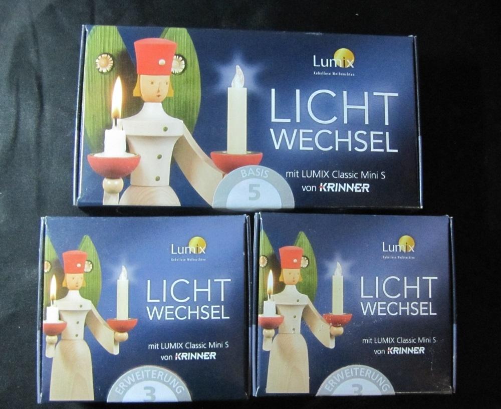 Lumix classic mini 10 led kerzen fernbedienung - Lumix classic ...